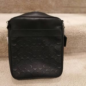Coach men's crossbody bag new with tag